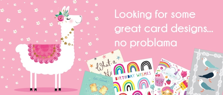 Buy greetings cards online Flamingo Paperie with teresa4cards.co.uk